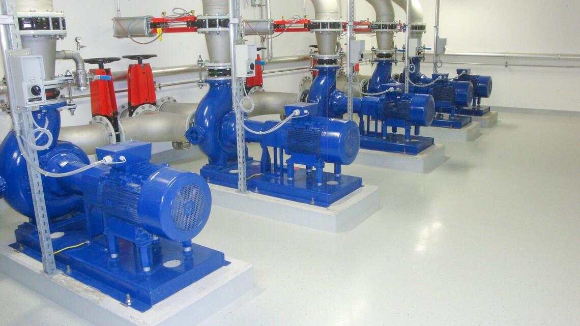 Bodenbeschichtung Pumpenraum ARA Schwyz